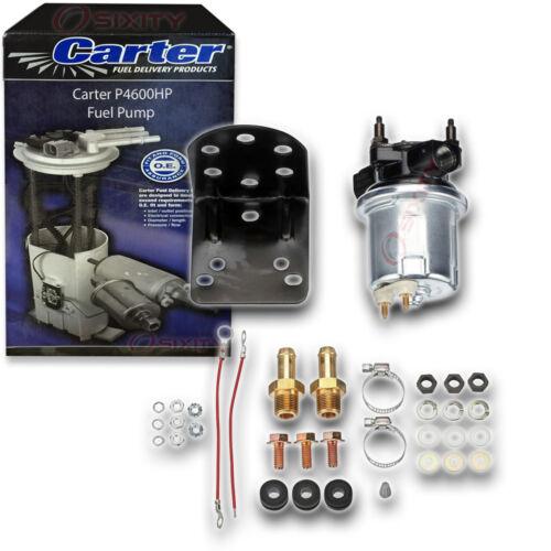 Carter P4600HP Fuel Pump Electric Inline Pressure Transfer Gas Diesel ai