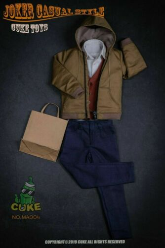 1//6 CUKE TOYS MA-004 The Joker Joaquin Casual Wear Clothing Costume Suit Toys