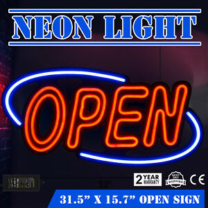 LED-Open-Sign-Rectangular-Hang-Waterproof-Neon-Light-Outdoor-Business-Sign-PVC-H