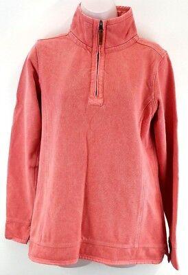 Fat Face Da Donna Maglione Pullover 12 Rosa Cotone 1/4 Zip-mostra Il Titolo Originale Materiali Superiori