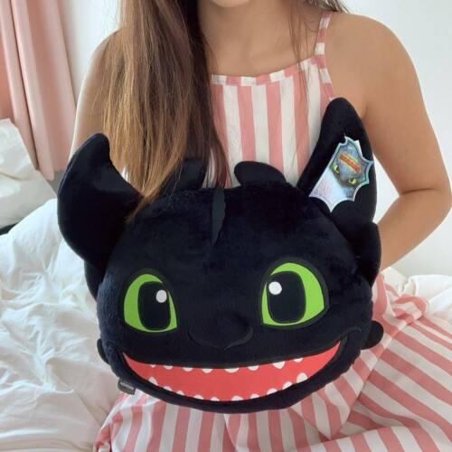 """Official How to Train Your Dragon Toothless Plush Doll Toys Pillow Cushion 10/"""""""