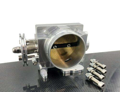70MM CNC BILLET HI FLOW THROTTLE BODY for 01-05 SUBARU IMPREZA WRX STI EJ20 EJ25