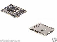 Lettore SCHEDA Porta NANO Sim Card reader PER GALAXY A3 A300 / A5 A500 / A7 A700