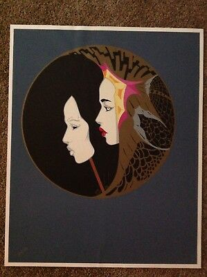 """/""""Adam/""""  hand signed and numbered serigraph Steve Leal"""