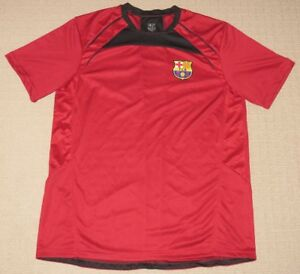 3c1a9713f4d Image is loading Vintage-FCB-FC-Barcelona-Football-Club-Jersey-XLarge-