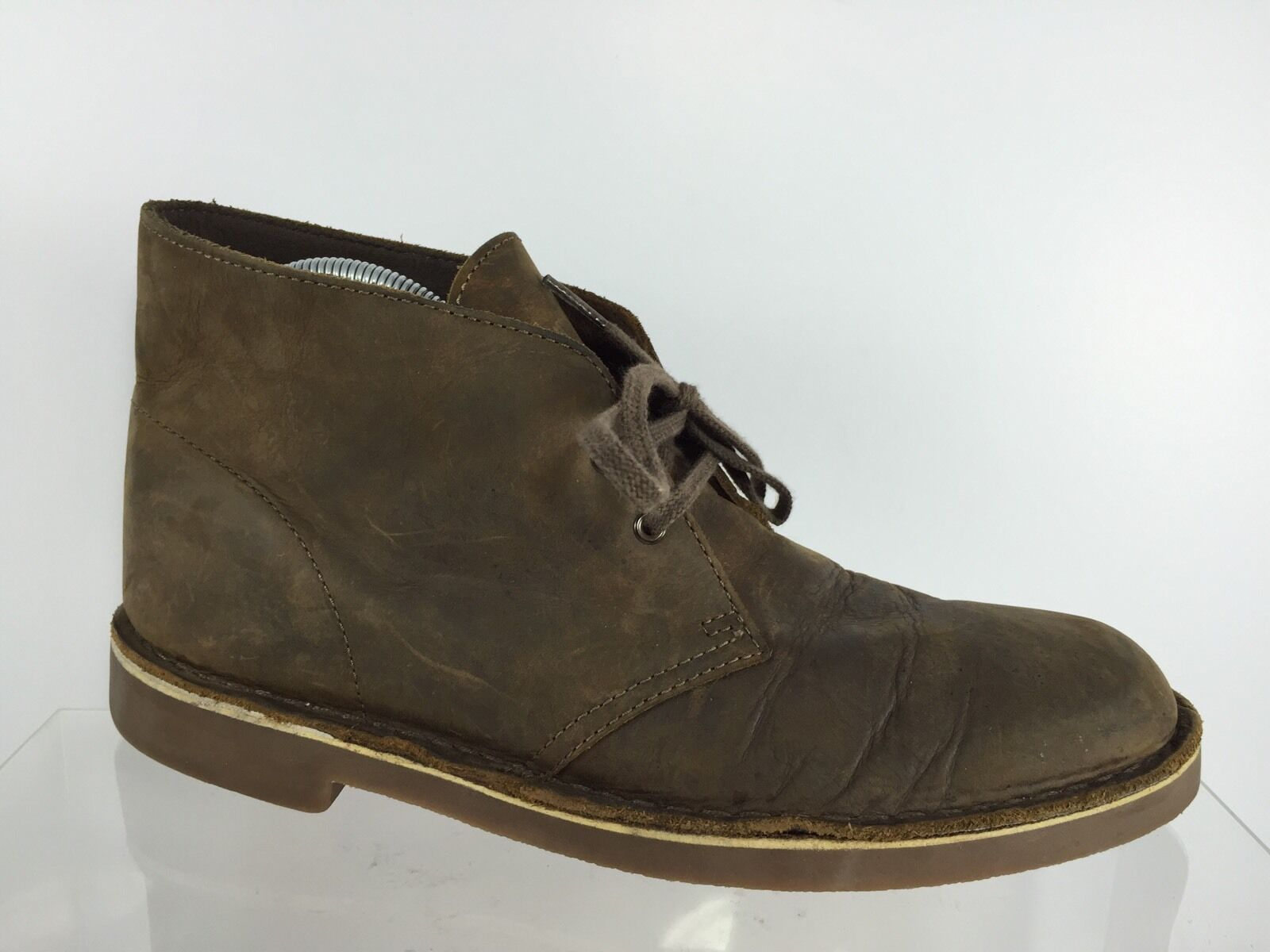 Clarks Uomo Brown Pelle Ankle Stivali 8.5 M