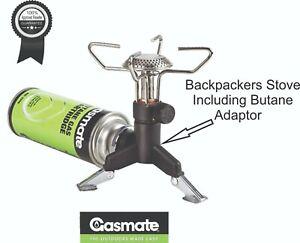 Gas Convertor Refill Adapter Saver Plus Butane Stove Camping Picnic Hiking E9F5