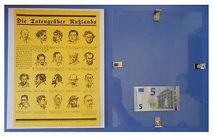 Propaganda-nazista-ebrei-comunisti-URSS-Comunismo-quadro-cornice-vetro-cm-30x24