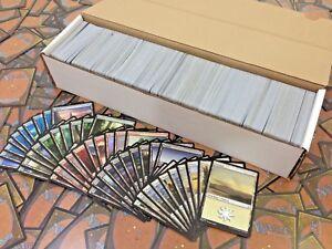 MTG-Lotto-1000-Carte-Rare-NC-Comuni-e-Terre-Ideali-per-Starter-Deck-LEGGI