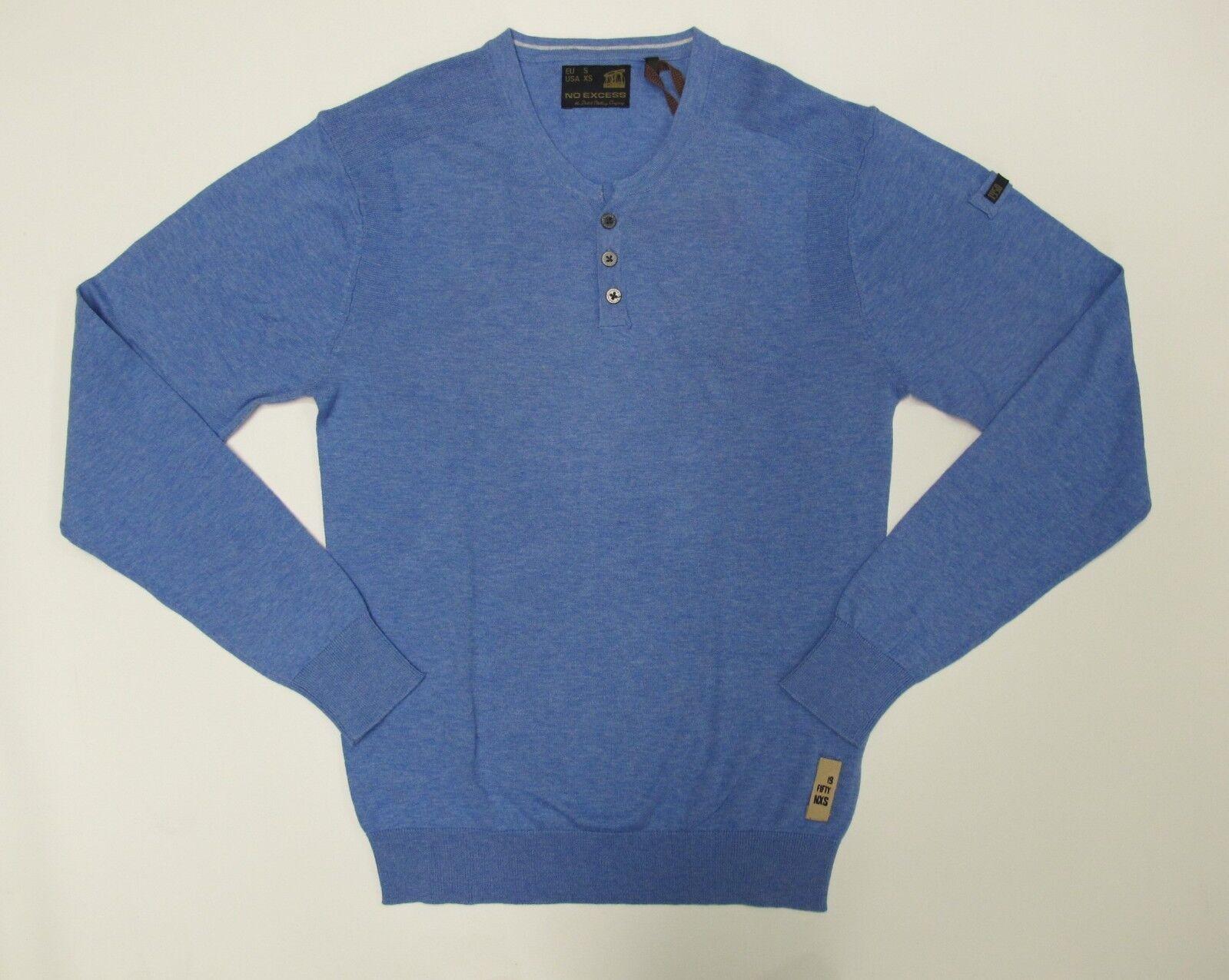 No Excess Pullover  Gr.S  Bleu