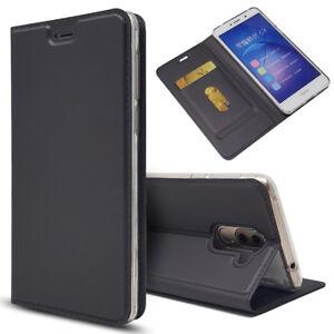 Magnetique-PU-Cuir-Flip-Case-AntiChoc-Carte-Cover-Pour-Huawei-Honor-6X