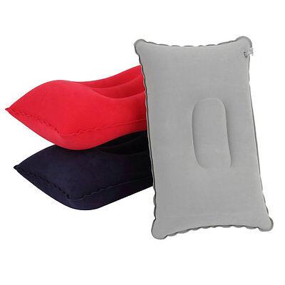 Portable Fold Outdoor Travel Sleep Pillow Air Inflatable Cushion Break Rest