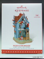 2015 Mickey's Fire Brigade Mouse Disney Hallmark Keepsake Ornament 2016