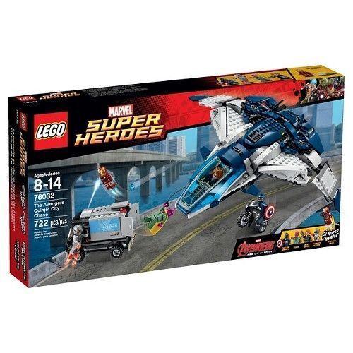 76032 AVENGERS QUINJET CITY CHASE lego NEW marvel AVENGERS legos set ultron