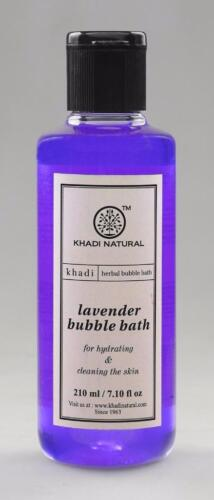 Khadi Natural Lavender Herbal Cleaning the skin Bubble Bath 210 ML