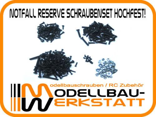 Notfall Reserve Schrauben Set ARRMA Typhon Kraton Talion V1 V2 Stahl hochfest!