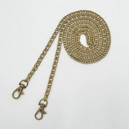 120cm Metal Chain For Shoulder Bags Handbag Buckle Handle DIY Belt For Bag Strap