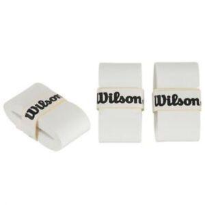 1 X Wilson Blanc Overgrip Raquette Sports-afficher Le Titre D'origine