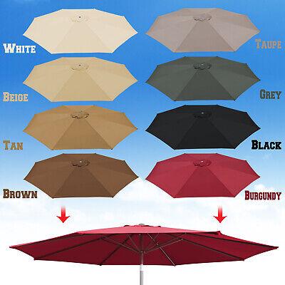 10ft Patio Umbrella Cover Canopy 8 Rib