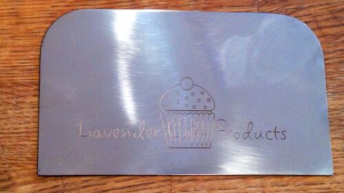 Lavender Cake Products Stainless Steel Icing Smoother