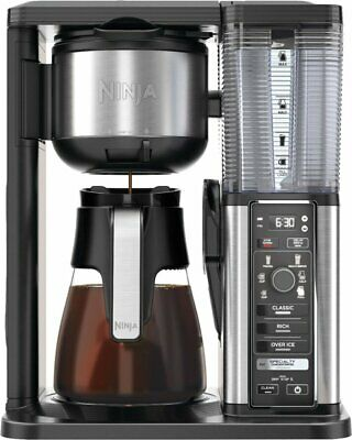 Ninja Specialty Coffee Maker Fold-Away Frother - CM401 ...