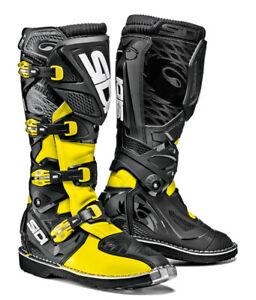 Sidi-X-Treme-Cross-Enduro-Stiefel-neon-gelb-schwarz-NEU
