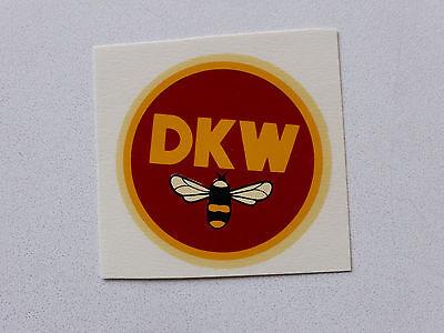Dkw Schriftzug Wasserabziehbild Abziehbild 03540d 45 Mm Rot/orange Accessoires & Fanartikel Automobilia