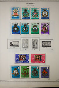Ascension-All-Mint-Stamp-Collection