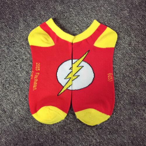 2018 Hot Cartoon Anime Superman The Flash Wonder Woman Batman Cotton Ankle Socks