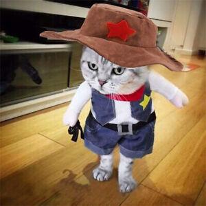 Pet-Cosplay-Costume-Dog-Cat-Puppy-Coat-Clothes-Apparel-Warm-Suit-Cowboy