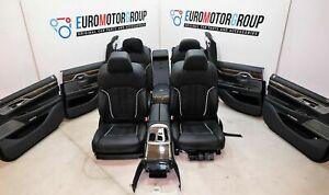 BMW-Comfort-Pelle-Sedili-Sedili-Interni-IN-Pelle-7er-G11-Nappa-Nero