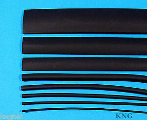 7m Heatshrink 1.6mm,2.4mm,3.2mm,4.8mm,6.4mm,9.5mm,12.7mm Cable Sleeve Insulation
