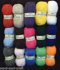 ROBIN-DK-DOUBLE-KNITTING-YARN-WOOL-100G-BALL-VARIOUS-COLOURS