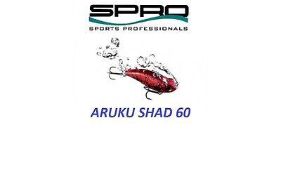 Choice of Colors Roland Martin Series SAS60 MM Spro Aruku Shad Jr 3//8 oz