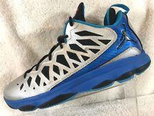 58358cb10c2 item 6 Jordan CP3 VI 6 Metallic Silver Blue Basketball Shoe Sneakers Men's  10 -Jordan CP3 VI 6 Metallic Silver Blue Basketball Shoe Sneakers Men's 10