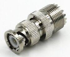 Male Plug to UHF SO239 Female RF Coaxial RF Connector X 1 ITEM CHIP 61 B