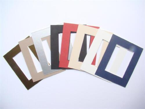 Pack of 10x High Quality Picture Mounts to fit ACEO or Miniature Art Work