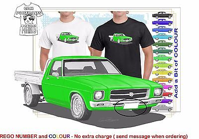 CLASSIC 71-74 HQ HOLDEN UTE ILLUSTRATED T-SHIRT MUSCLE RETRO SPORTS