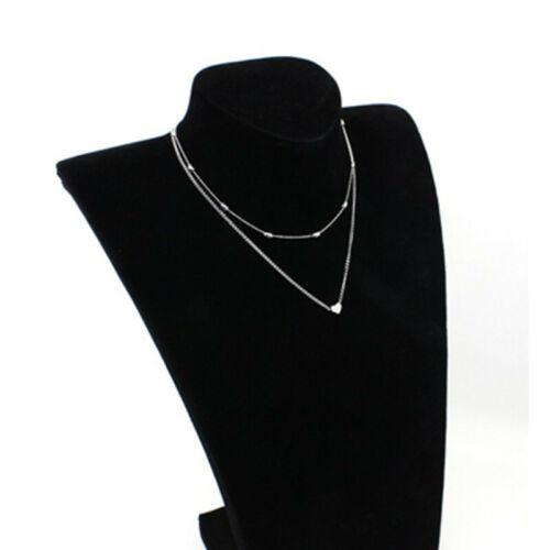 Women Ladies Multi Layer Necklace Charm Long Chain Pendant Chocker Jewelry Gift