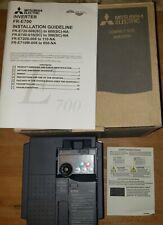 Mitsubishi FR-S540E-0.4K-NA Inverter 0.5Hp 380-480V 3 Ph S500 Series VFD
