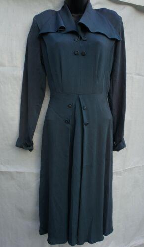 Vintage 30s 40s Dress Film Frock Sportswear Hollyw