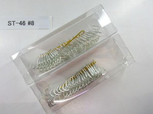 OWNER ST-46 Treble Triple Hook 40pcs lure manufacture bulk package #8