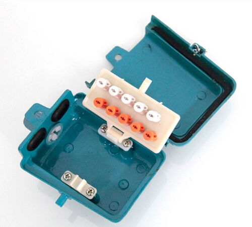 5 pair telephone cable junction box voice screw type,terminal box,waterproof
