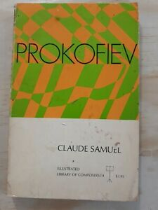 Prokofiev-by-Claude-Samuel-1971-Paperback-Library-of-Composers-1st-English