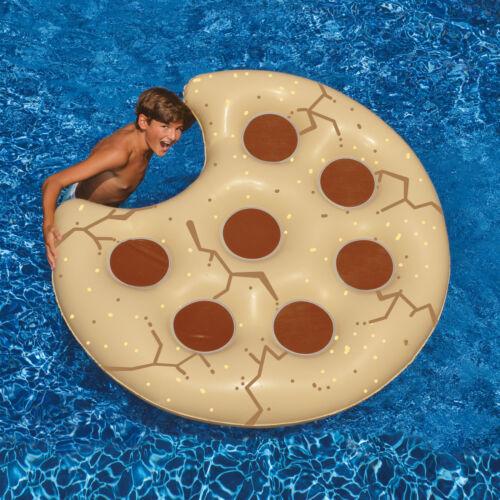 "Swimline 60/"" Cookie Swimming Pool Inflatable Food Island Float"