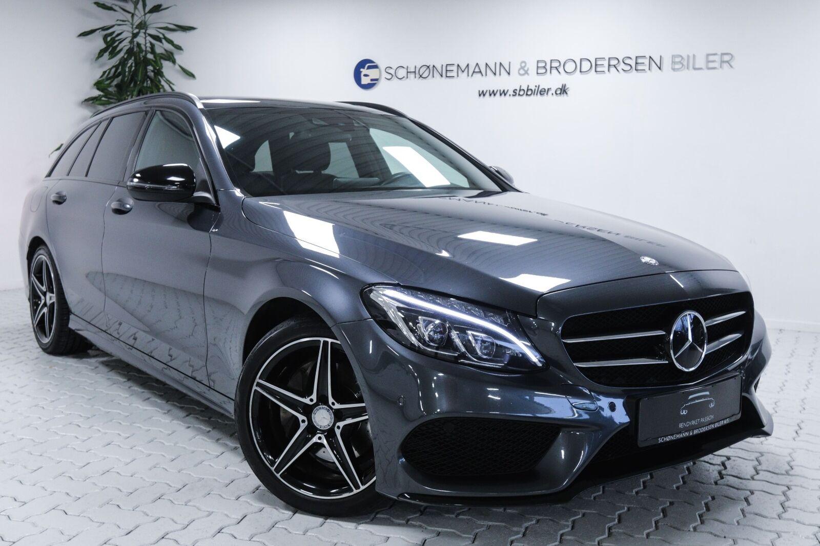 Mercedes C220 d 2,2 AMG Line stc. aut. 5d - 2.465 kr.