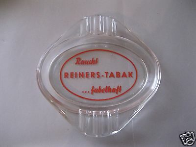 Pall Mall Glas Aschenbecher Ascher 10,5 cm Saphirblau neuwertig Seltenheit