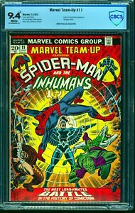 Marvel-Team-up-11-CBCS-NM-9-4-White-Pages-Comics