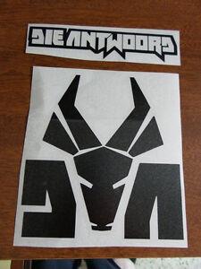 Die-Antwoord-logo-x-2-die-cut-vinyl-decal-sticker-rap-ZEF-SIDE-Ninja-Yolandi