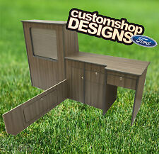 2001 - 2013 Ford Transit LHD SWB Mk7 Camper Van Flat Pack / Kitchen / Furniture
